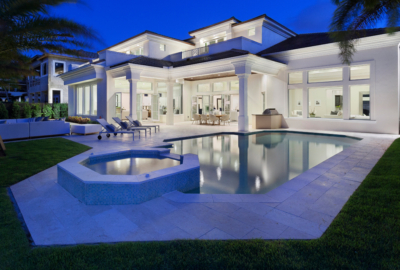 Luxury Pool   Outdoor Living   Patio   Coastal Style